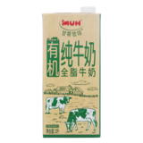 ij大美网牧场有机全脂牛奶1L