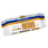 Unsalted crackers on surface 250 g CRICH